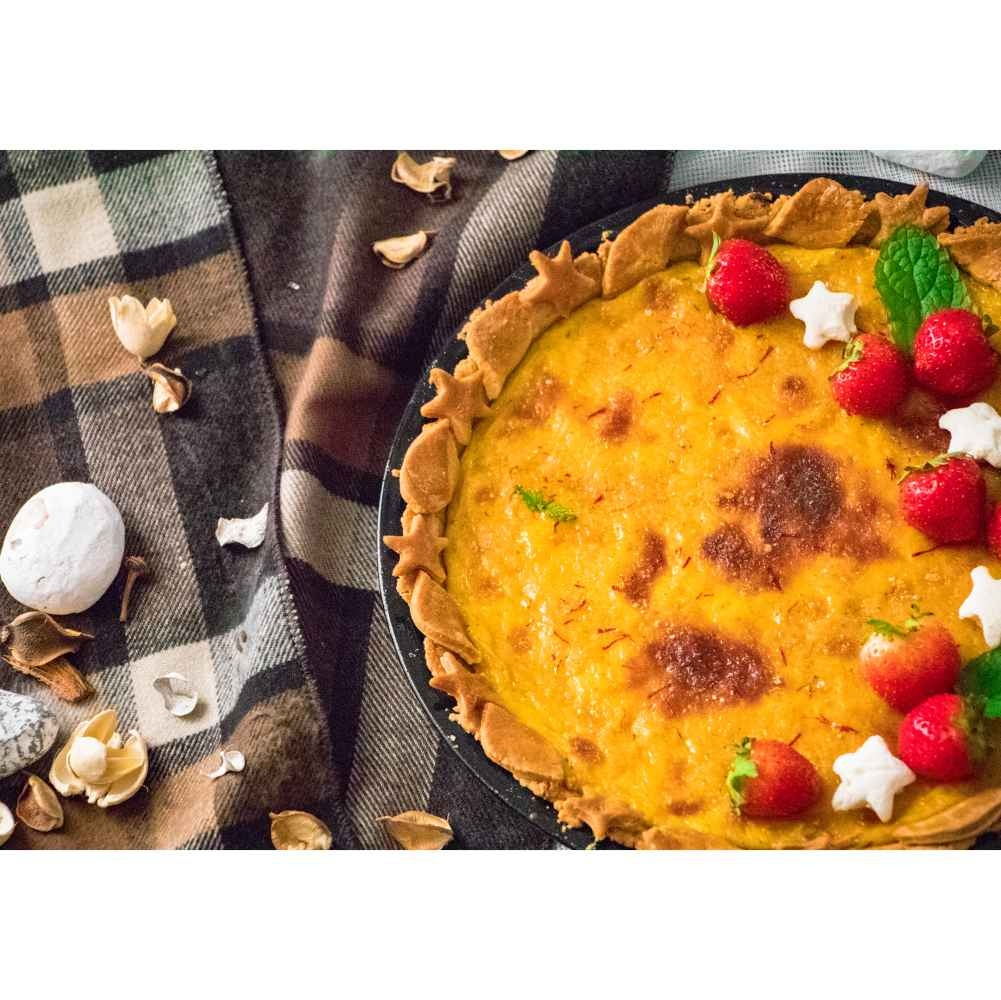 Photo of Shahi Cream Brulee Tart by Pritha Chakraborty at BetterButter