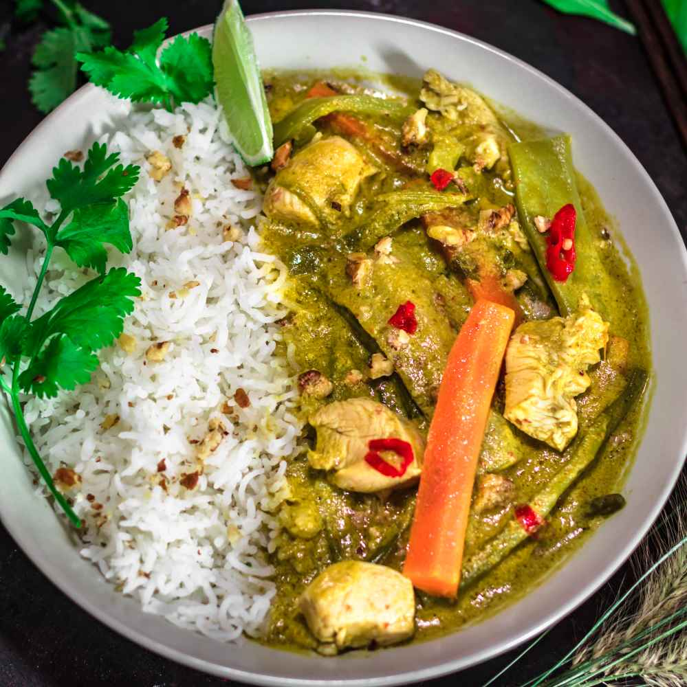 Photo of Goan green chicken curry by Pritha Chakraborty at BetterButter