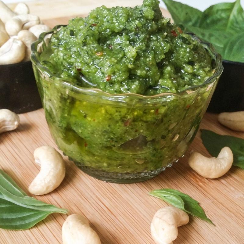 How to make Basil Cashew Pesto