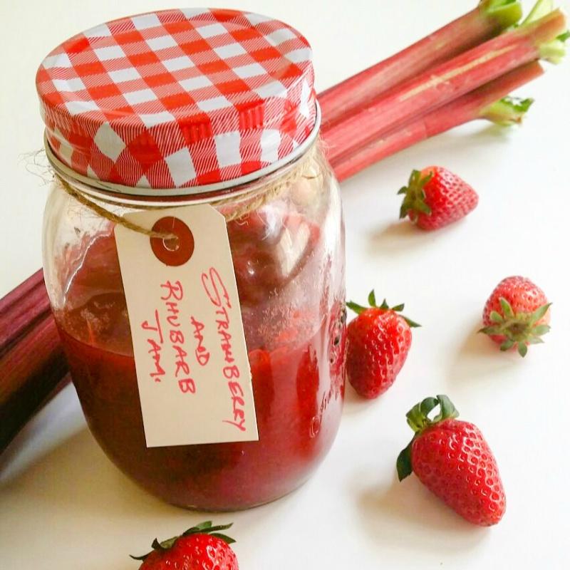 How to make Strawberry and Rhubarb Jam
