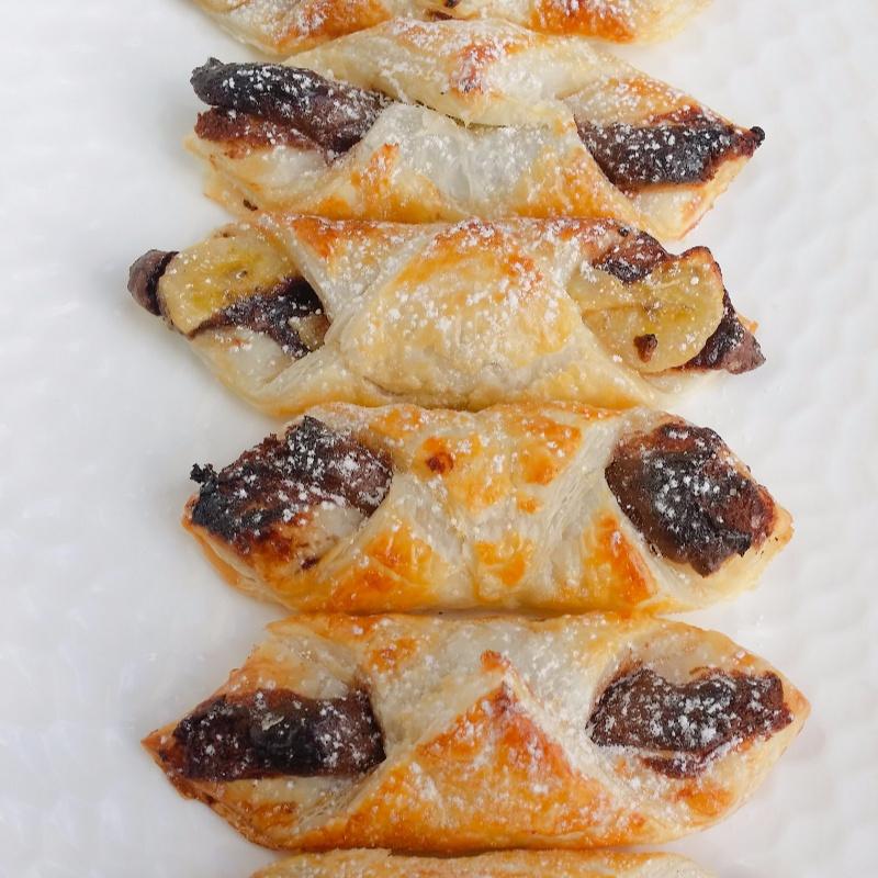 Photo of Quick and Easy Nutella–Banana Puffs by Priti Shetty Naiga at BetterButter
