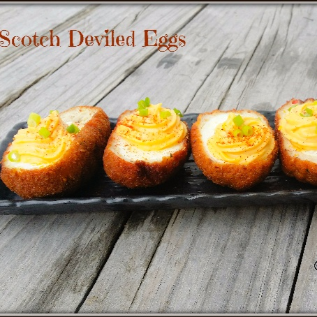 How to make Scotch Deviled Eggs