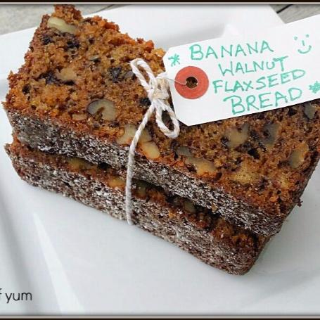 How to make Banana Walnut & Flax Seed Bread