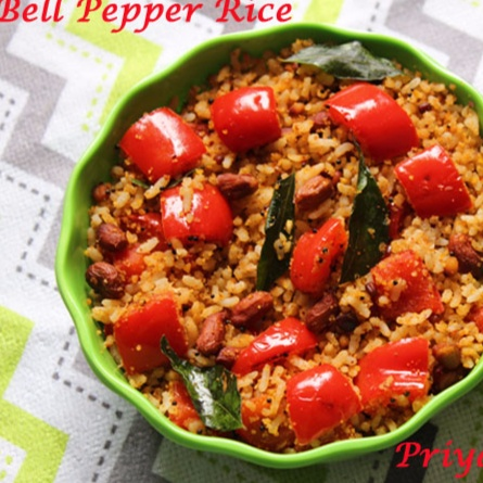 How to make Bell Pepper Rice