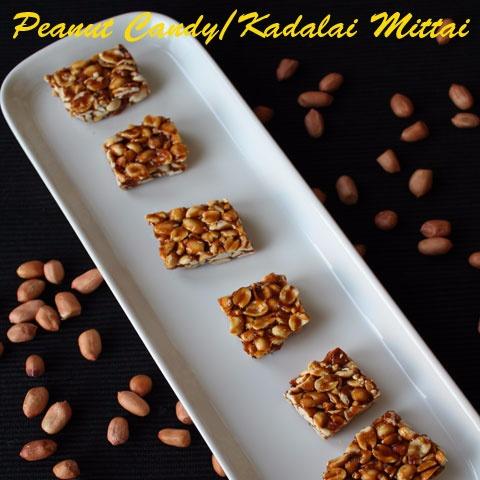 How to make Kadalai Mittai / Peanut Candy
