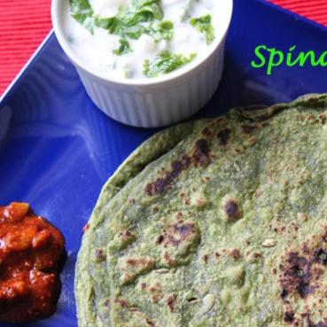 Photo of Spinach Paratha by Priya Alagappan at BetterButter