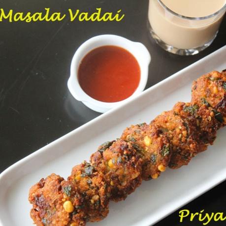How to make Masala Vadai