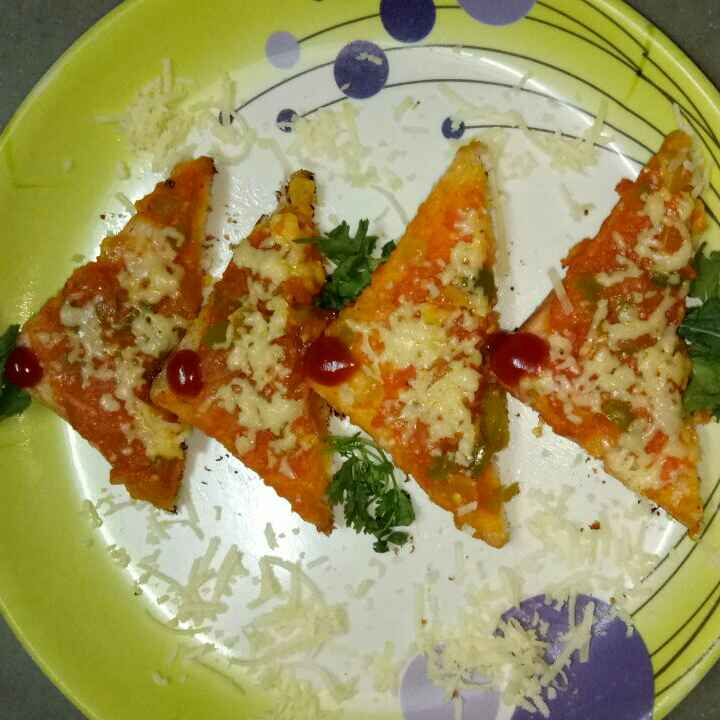 Photo of Indian pizza by priya Asawa at BetterButter