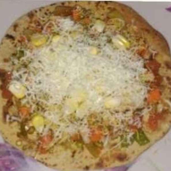 How to make Leftover Roti Pizza