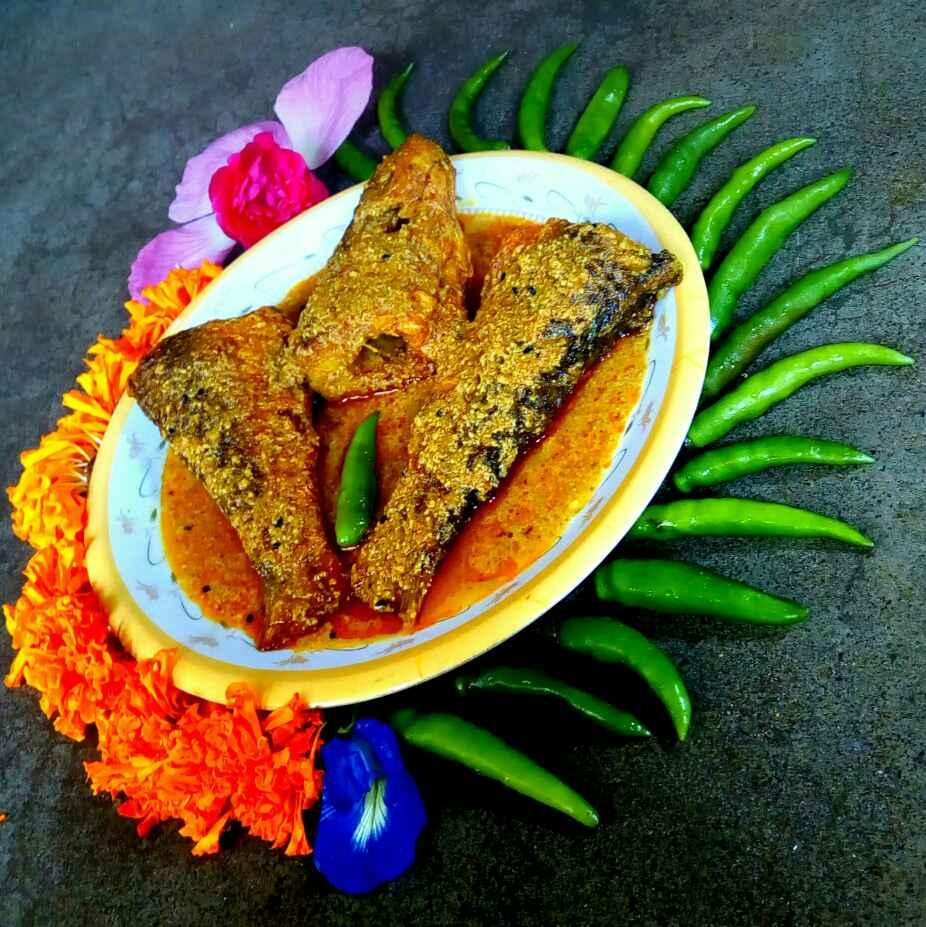 How to make কিসমিস পোস্ততে বাটা মাছ