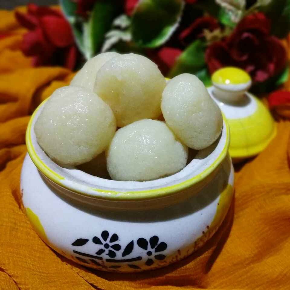 How to make রসগোল্লা