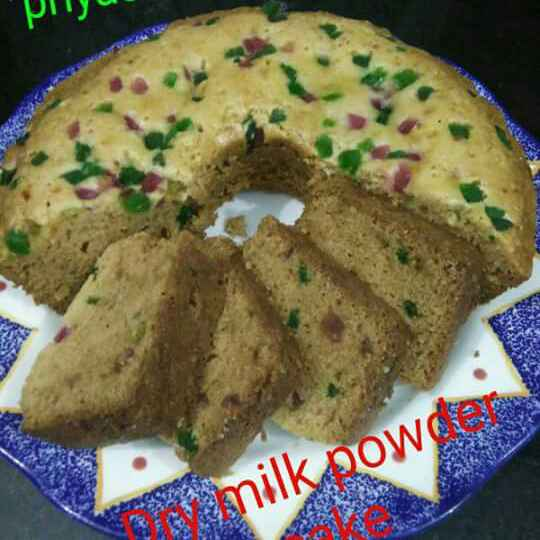 Photo of Dry Milk Powder Cake by Priya Garg at BetterButter