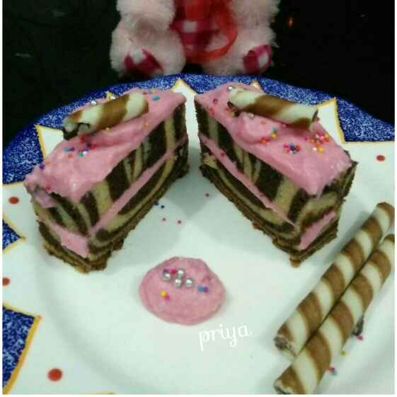 Photo of Rosy Ice Cream Pastry by Priya Garg at BetterButter