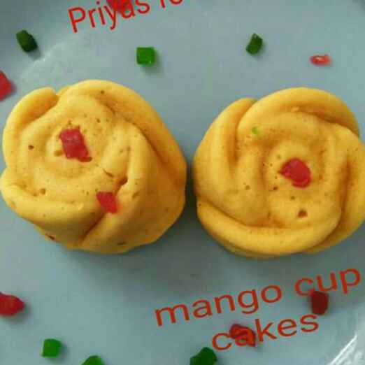 Photo of Mango rose muffins by Priya Garg at BetterButter