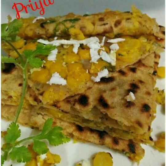 Photo of Chana dal parantha by Priya Garg at BetterButter
