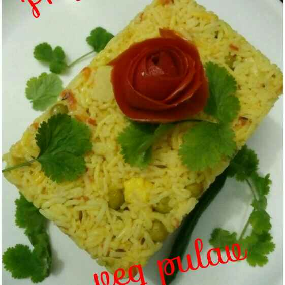 Photo of Veg Pulav by Priya Garg at BetterButter