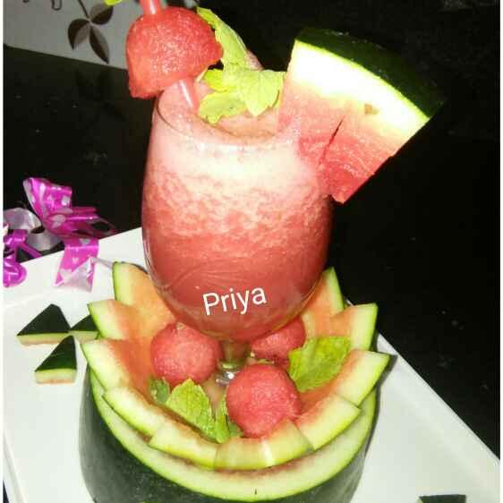 Photo of Tarbuj juice by Priya Garg at BetterButter