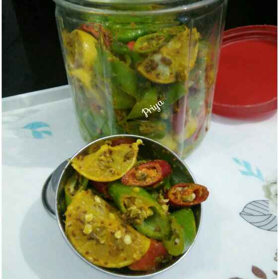 Photo of Lemon chilly pickle by Priya Garg at BetterButter