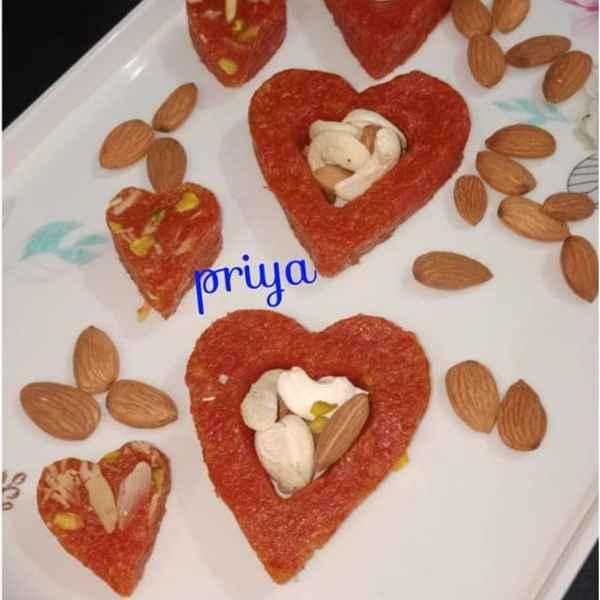 Photo of Carrots Dry Fruits Burfi by Priya Garg at BetterButter