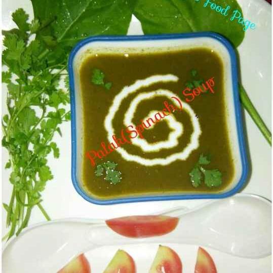 How to make पालक का सूप
