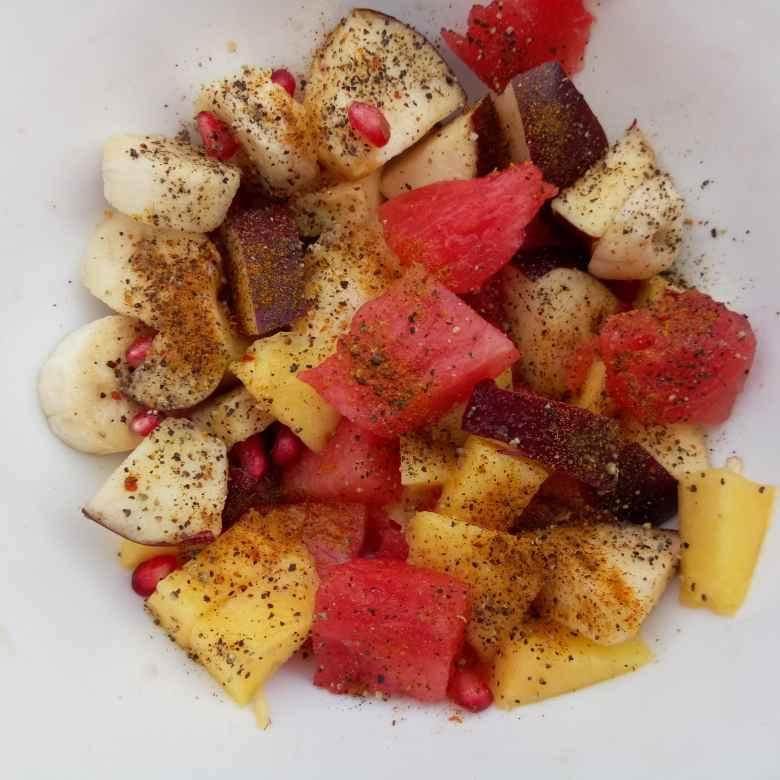 How to make फलो की चाट