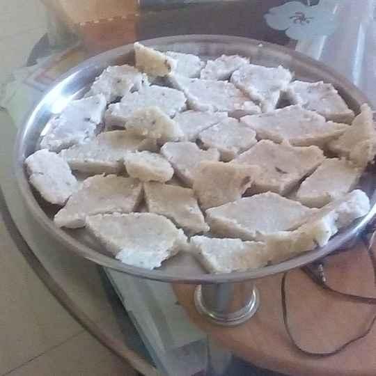 How to make Coconut Barfi