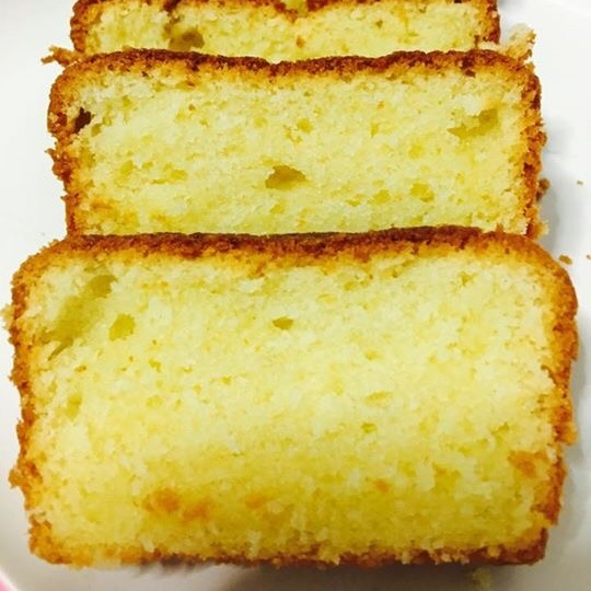 Photo of Eggless vanilla sponge slice cake by Priya Mani at BetterButter