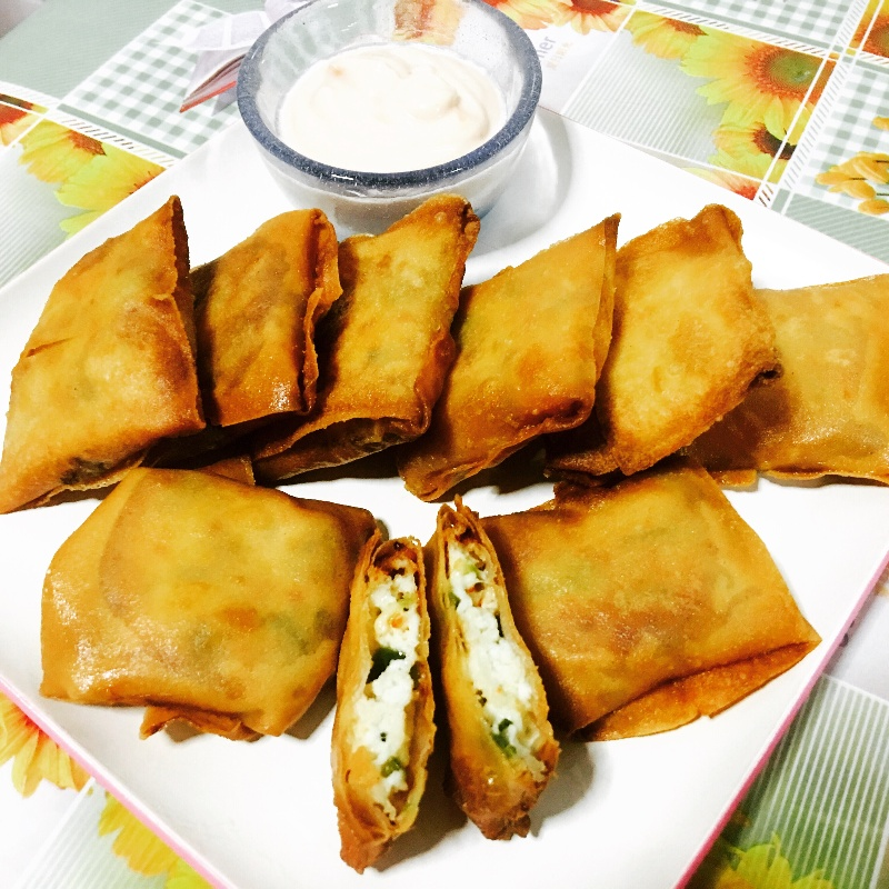 Photo of Paneer parcel / paneer pockets by Priya Mani at BetterButter