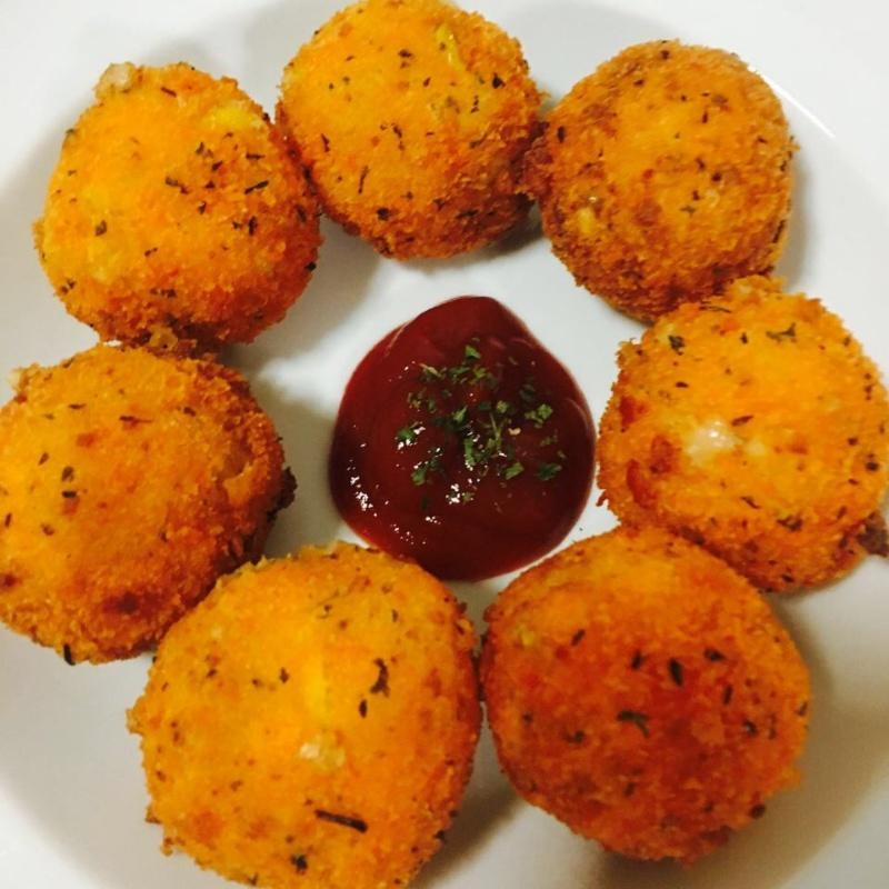 How to make Corn Cheese Balls