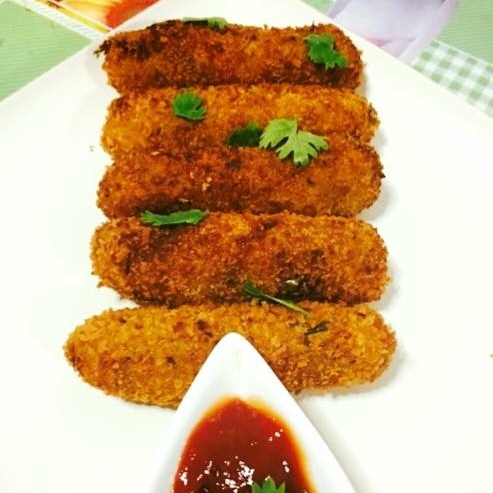 Photo of Mixed Vegetable Crispy Crunchy Cigars by Priya Mani at BetterButter