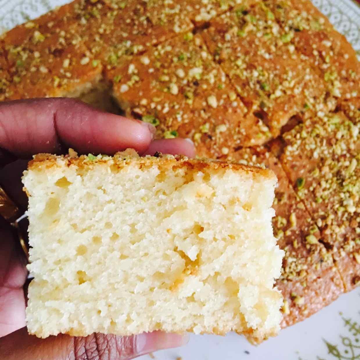Photo of Eggless Hot Milk Cake by Priya Mani at BetterButter