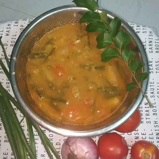 Photo of Spring onion sambar by Supriya Mohan at BetterButter