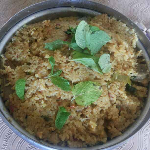 Photo of Chicken biryani pressure cooker method by Priya Pradeep at BetterButter