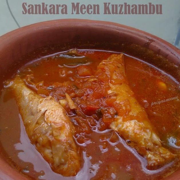 Photo of Sankara Meen Kuzhambu / Red Snapper Fish Kuzhambu by Priya Satheesh at BetterButter