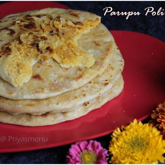 Photo of Parupu Poli by Priya Satheesh at BetterButter