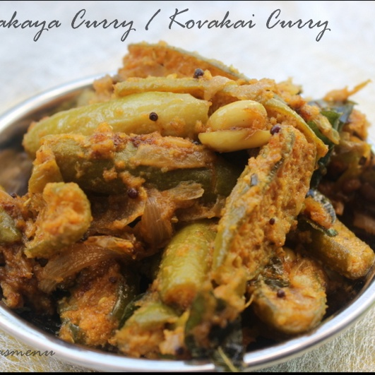 How to make Dondakaya curry / Kovakai curry