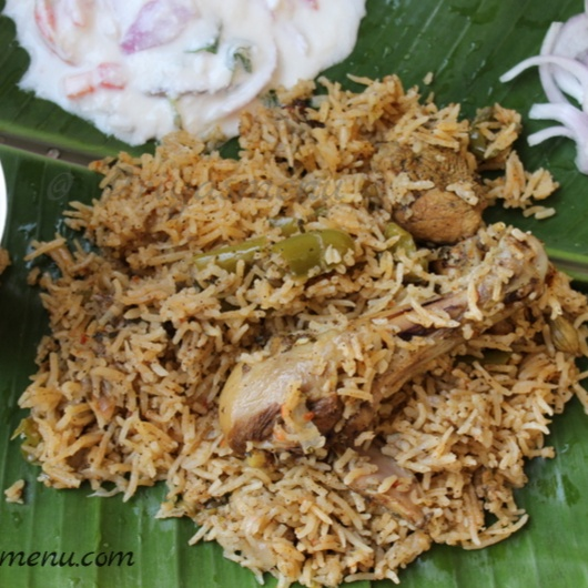 Photo of Curry Leaves and  Pepper Chicken Biryani by Priya Satheesh at BetterButter
