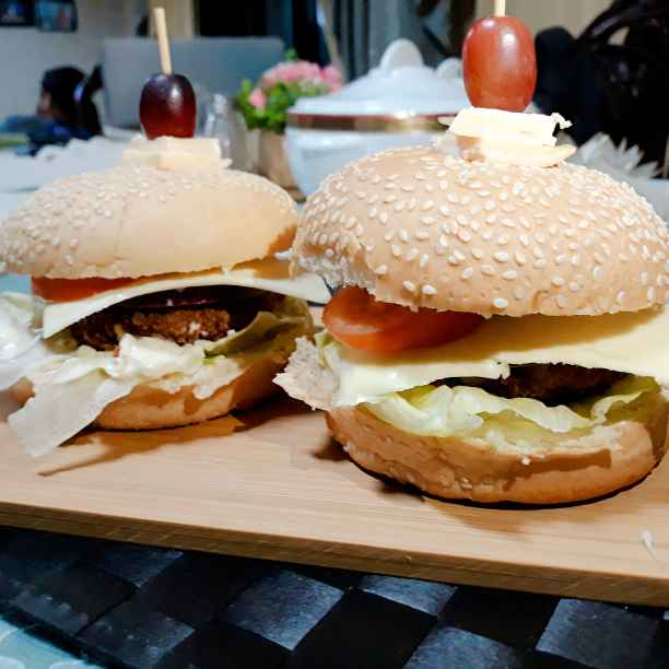 Photo of Triple beans burger by Priya Shukla at BetterButter