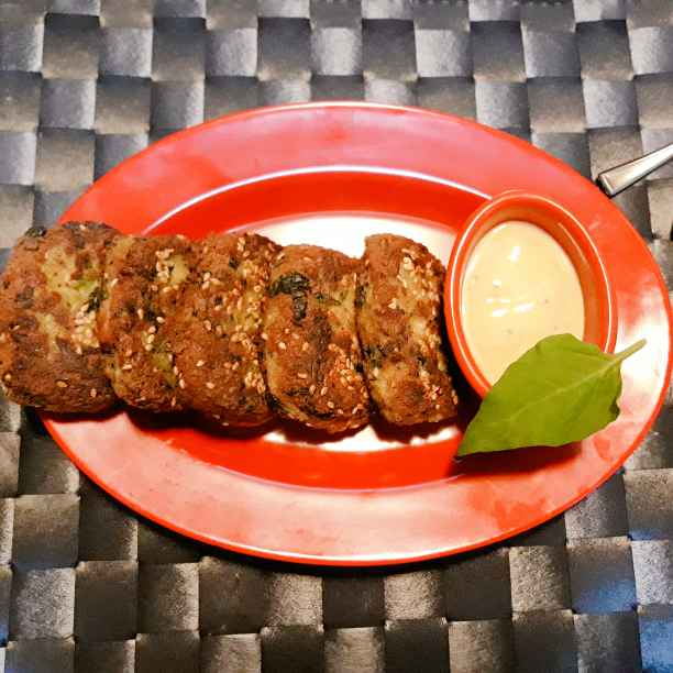 Photo of Tofu and spinach cutlets by Priya Shukla at BetterButter