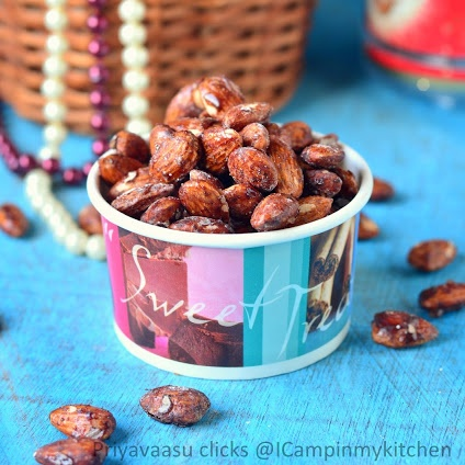 Photo of Cinnamon and Spice roasted Almonds by Priya Srinivasan at BetterButter