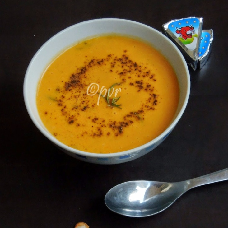 Photo of Cheese, Butternut Squash Soup by Priya Suresh at BetterButter