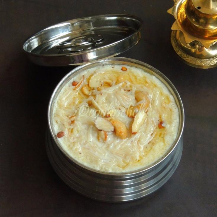 Photo of Samai Semiya Payasam/Little Millet Vermicelli Kheer by Priya Suresh at BetterButter