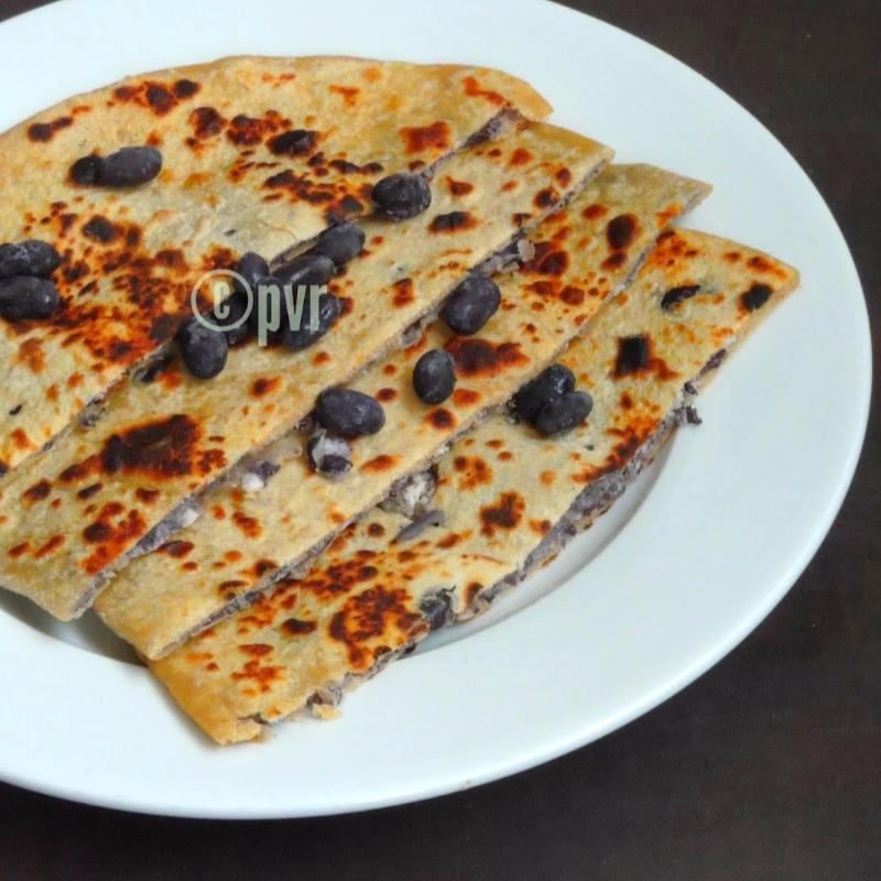 How to make Vegan Black Bean Paratha