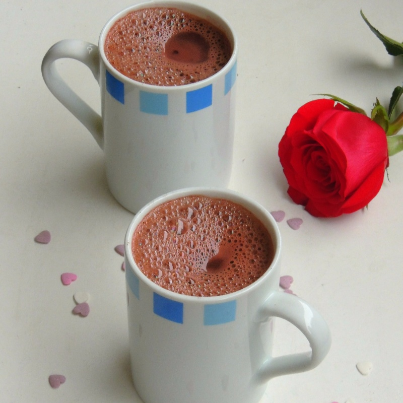 Photo of Red Velvet Hot Chocolate by Priya Suresh at BetterButter