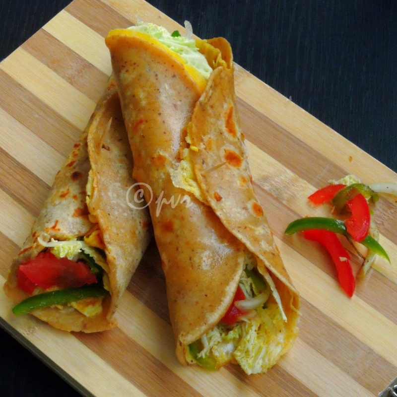 How to make Kolkata Egg Kathi Roll