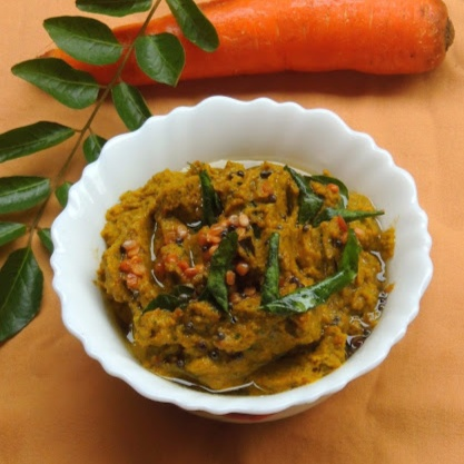 Photo of Carrot Curry leaves Chutney by Priya Suresh at BetterButter