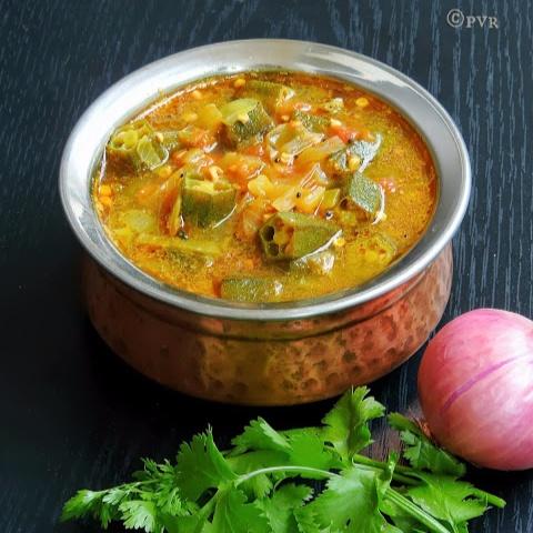 Photo of Chettinad Vendakkai Mandi/Chettinad Lady Finger Curry by Priya Suresh at BetterButter