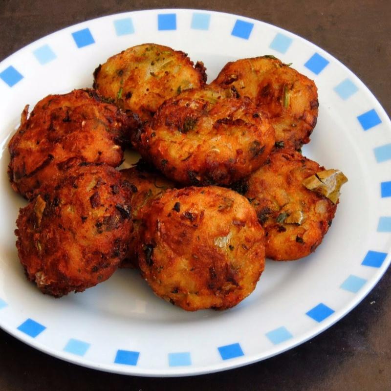 How to make Potato Vada/Aloo Vada