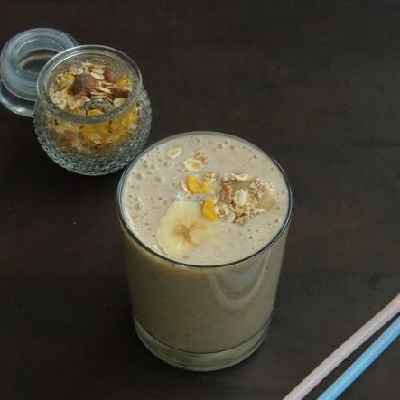 Photo of Banana Muesli Smoothie by Priya Suresh at BetterButter