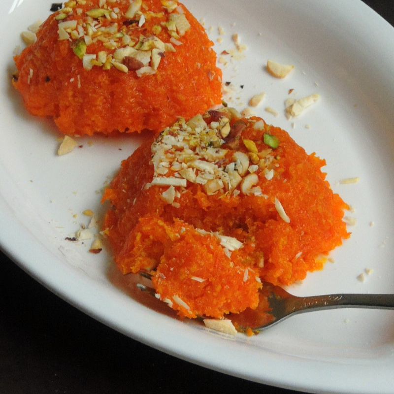 Photo of Carrot Burfi/Carrot Khoya Burfi by Priya Suresh at BetterButter